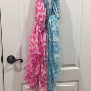 Lilly Pulitzer scarves (2)
